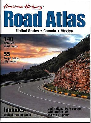 2012 American Highway, USA Road Atlas