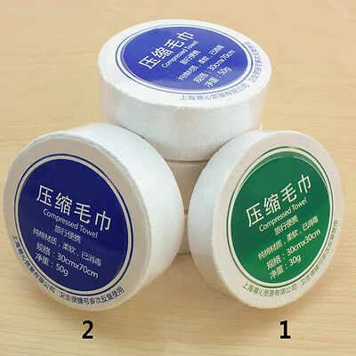 1X Portable Fashion Face Care Cotton Compressed towel For Outdoor Travel