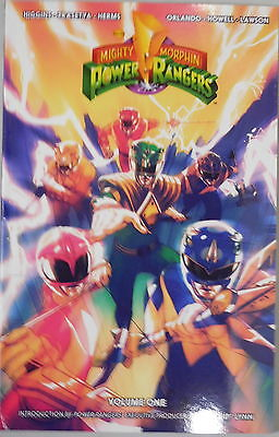 Mighty Morphin Power Rangers vol 1 trade paperback Boom Studios