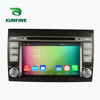 Android 5.1 Quad Core Car Stereo DVD Player GPS Navigation For Fiat Bravo 07-12