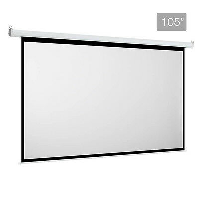 Brand New Electric Projector Screen - 266 cm