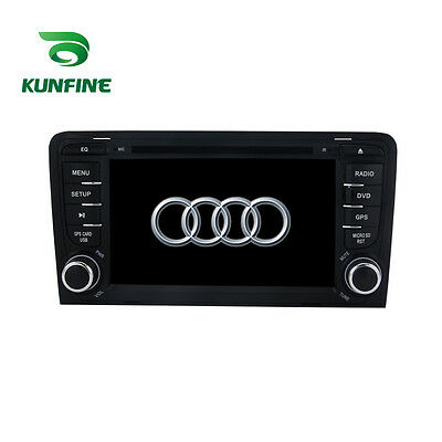 Android 5.1 Quad Core Car Stereo DVD Player GPS Navigation For Audi A3/S3 Radio
