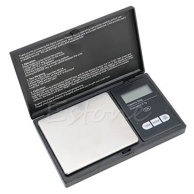500g/0.1g Pocket LCD Digital Precision Jewelry Gold Gram Balance Weight Scale