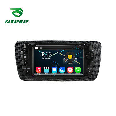 Android 5.1 Quad Core Car Stereo DVD Player GPS Navigation For Seat Ibiza 09-13