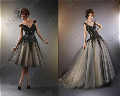 Formal Short/Long Evening Ball Gown Party Prom Bridesmaid Dress Stock Size 6-18