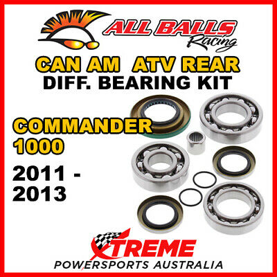 25-2086 Can Am Commander 1000 2011-2013 ATV Rear Differential Bearing Kit