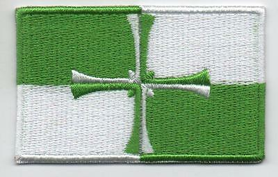 Kirkcudbrightshire County Scotland Flag Embroidered Patch Badge - Sew or Iron on