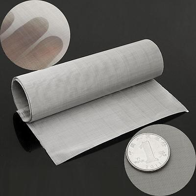 35x12'' 100 Micron Mesh Stainless Steel Woven Wire Cloth Screen Filter Sheet