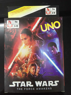Star War UNO CARDS Family Fun Playing Card Game Toy Board Game