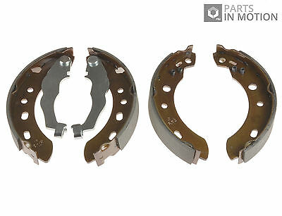 Brake Shoes fits NISSAN MICRA K11 1.3 Rear 98 to 00 ADN14151 Set Blue Print New