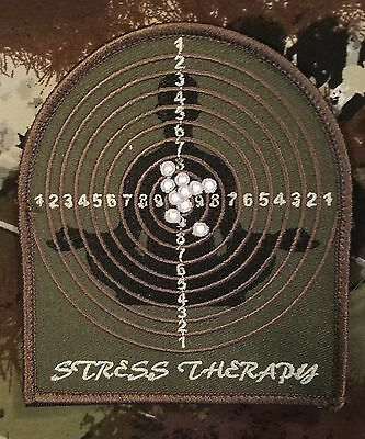 Stress Therapy Combat Morale Group Usa Army Forest Velcro® Brand Fastener Patch