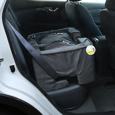 Me & My Pets Black Travel Booster Seat/bed Dog/puppy/cat Safety Car Carrier/cage
