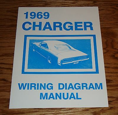 1969 Dodge Charger Wiring Diagram Manual 69
