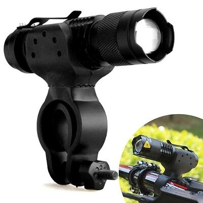 1200lm Q5 LED Cycling Bike Accessories Bicycle Head Front Flashlight  360 Mount