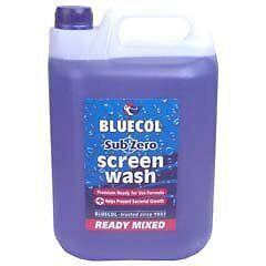 Bluecol Ready Mixed Screenwash BRM005 Genuine Top Quality New