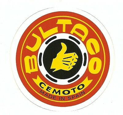 BULTACO  MOTORCYCLE  Sticker Decal