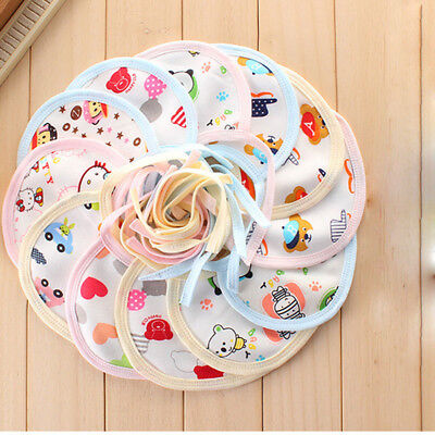 10 pcs Baby Waterproof Bandana Cute Kid Bibs Feeding Saliva Burp Apron Lunch