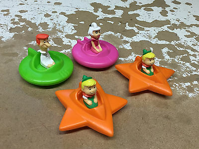 4 1989 Wendy's Jetsons Kid's Meals Toys