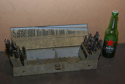 """Nice set of drill bits different sizes;drill INDEX,1/32""""to 1/2"""" INV=23546"""