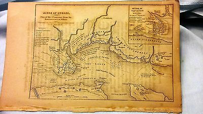 Map of 1759 Siege of Quebec from Hy. of US by George Baneroft. VOL IV, 15th ed.