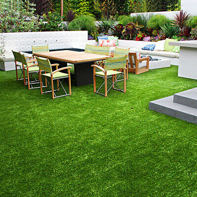 Brand New Artificial Grass 10 SQM Synthetic Artificial Turf Flooring 30mm Pile H