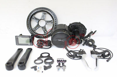 BBS02 36V 500W 8fun Bafang Mid Drive Motor Electric Bike Conversion Kit Ebike