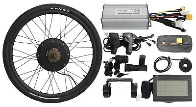 """48v 1500w 700C/29"""" Threaded Rear Wheel Ebike Conversion Kit with SW Controller"""