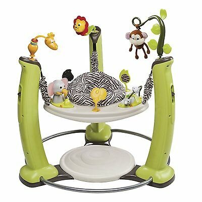 NEW Jungle Quest ExerSaucer Jump & Learn Jumper W/ Lots Of Activities By Evenflo