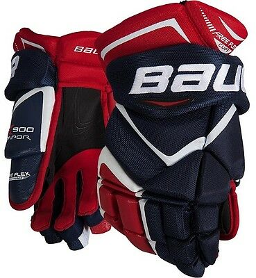 Bauer Vapor X900 Hockey Gloves Senior Sizes