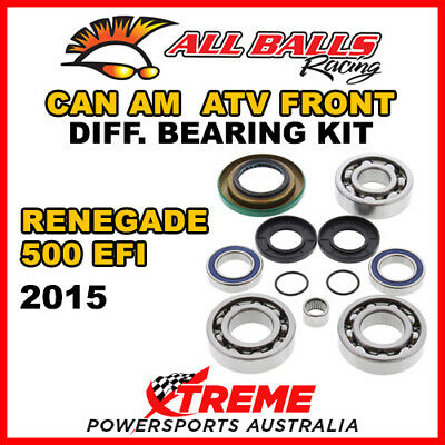 25-2069 Can Am Renegade 500 EFI 2015 ATV Front Differential Bearing Kit