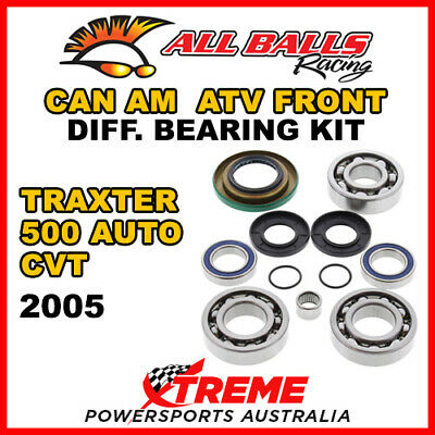 25-2069 Can Am Traxter 500 Auto CVT 2005 ATV Front Differential Bearing Kit