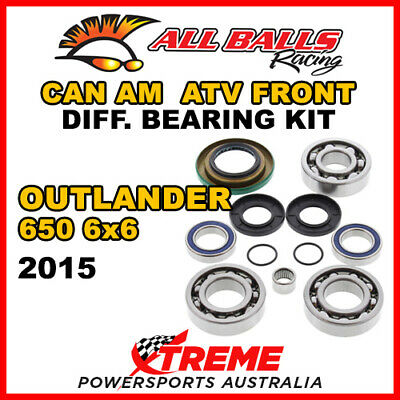 25-2069 Can Am Outlander 650 6x6 2015 ATV Front Differential Bearing Kit
