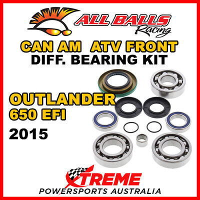 25-2069 Can Am Outlander 650 EFI 2015 ATV Front Differential Bearing Kit