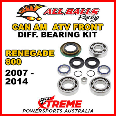 25-2069 Can Am Renegade 800 2007-2014 ATV Front Differential Bearing Kit