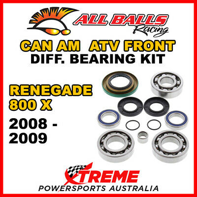 25-2069 Can Am Renegade 800 X 2008-2009 ATV Front Differential Bearing Kit