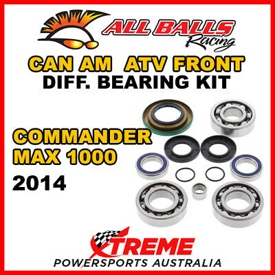 25-2069 Can Am Commander MAX 1000 2014 ATV Front Differential Bearing Kit