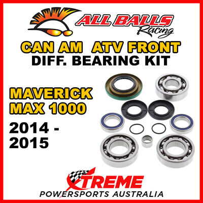 25-2069 Can Am Maverick MAX 1000 2014-2015 ATV Front Differential Bearing Kit
