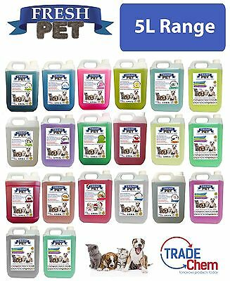 Fresh Pet Kennel/Cattery Disinfectant and Deodoriser - 5L Range