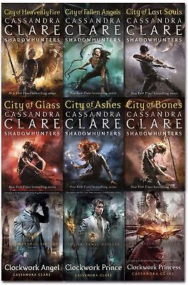 Mortal Instruments Series Cassandra Clare 5 Books Collection Set