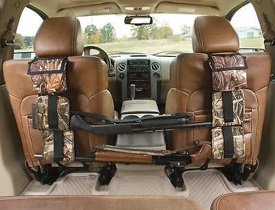 Camouflage Back Seat Gun Rifle Sling Rack Car SUV Trucks Pickup Storage Tool #E