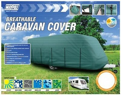 Maypole 9534 Caravan Cover - Fits 5.6m to 6.2m - Green New