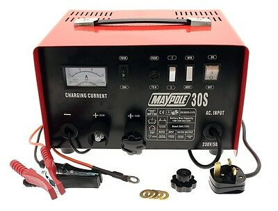 Maypole 730 20A Metal Battery Charger 12/24V New