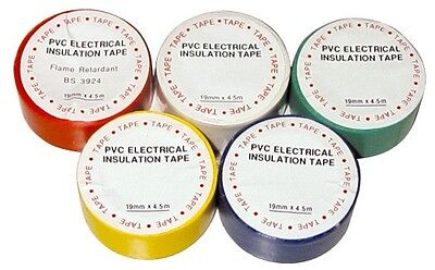Pearl PPT03 Insulating Tape White 19mm x30m (Pack of 10) Pearl Consumables New