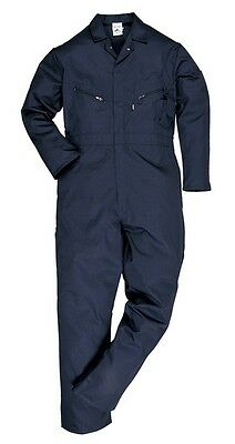 Portwest C813NARXL Navy  Zip Coveralls - Extra Large (Regular Leg Length) New
