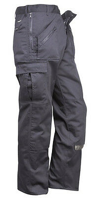 750 Blk Action Trouser Tall Leg W48 S887BKT48 Portwest New