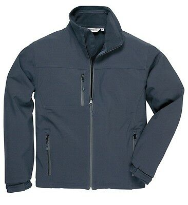 Portwest TK50NARXL Navy Soft Shell Jacket - Extra Large New