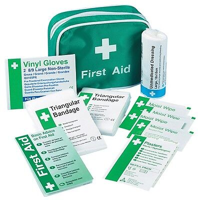 Safety First Aid K306 HSE Travel First Aid Kit (1 Person) New