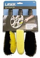 Wheel Brush Set 3pc 5008 Laser New