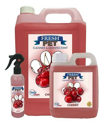FRESH PET MULTI PACK - 2 in 1 Kennel/Cattery Disinfectant and Deodoriser