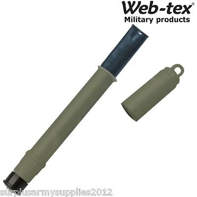 Web-Tex Survival Purification Drinking Straw Water Filter Pure Sas Hiking